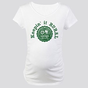 Keepin it RURAL 02 Maternity T-Shirt