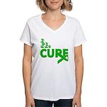 Kidney Disease Fight For A Cure Women's V-Neck T-S