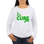 Kidney Disease Fight For A Cure Women's Long Sleev