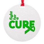 Kidney Disease Fight For A Cure Round Ornament