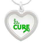 Kidney Disease Fight For A Cure Silver Heart Neckl