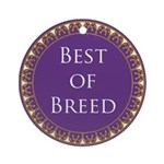 Best Of Breed Ceramic Medallion Round Ornament