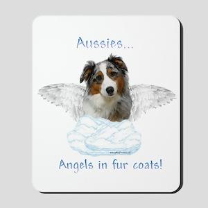 Aussie Angel Mousepad