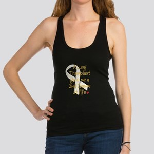 2nd Chance At Life (Lung) Racerback Tank Top