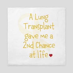2nd Chance At Life (Lung) Queen Duvet