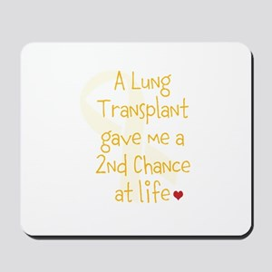 2nd Chance At Life (Lung) Mousepad