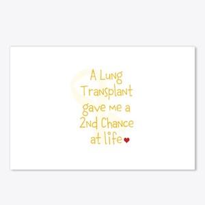 2nd Chance At Life (Lung) Postcards (Package of 8)