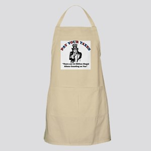 Pay Your Taxes! BBQ Apron