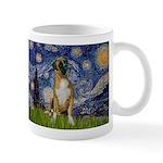 Starry / Boxer Mug