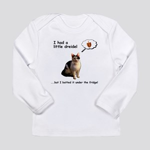 Hanukkah Dreidel Cat Long Sleeve T-Shirt