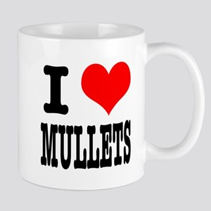 I Heart (Love) Mullets Mug