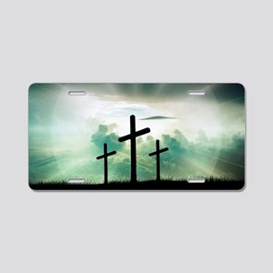 Everlasting Life Aluminum License Plate
