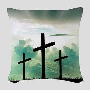 Everlasting Life Woven Throw Pillow