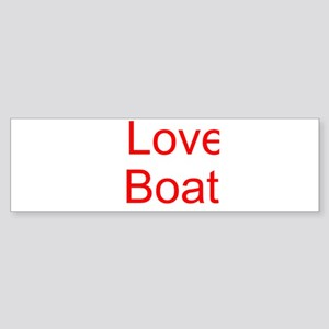 Love Boat Bumper Sticker