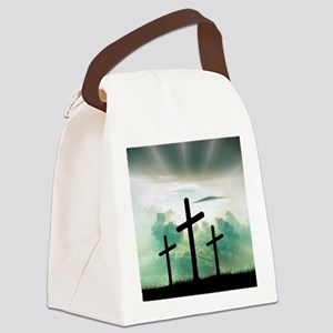 Everlasting Life Canvas Lunch Bag