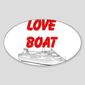 Love Boat Sticker