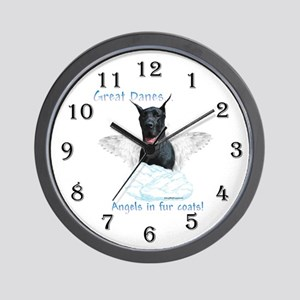 Dane(black) Angel Wall Clock