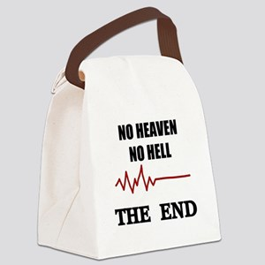 NO HEAVEN NO HELL Canvas Lunch Bag