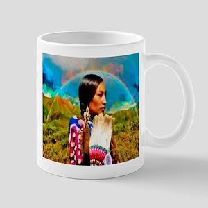 Crow Woman Mug