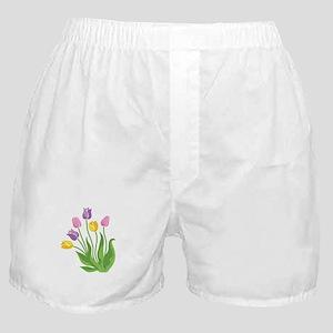 Tulips Plant Boxer Shorts