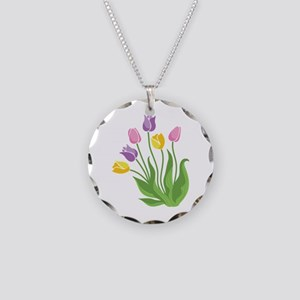 Tulips Plant Necklace