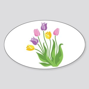 Tulips Plant Sticker