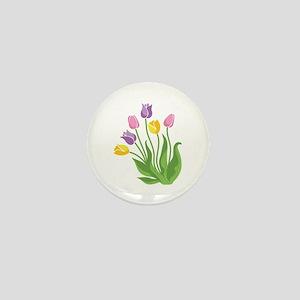 Tulips Plant Mini Button
