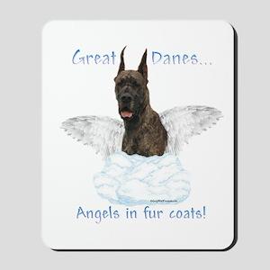 Dane(brindle) Angel Mousepad