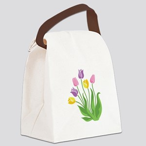 Tulips Plant Canvas Lunch Bag