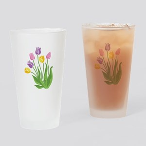 Tulips Plant Drinking Glass