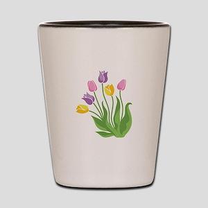 Tulips Plant Shot Glass