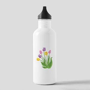 Tulips Plant Water Bottle