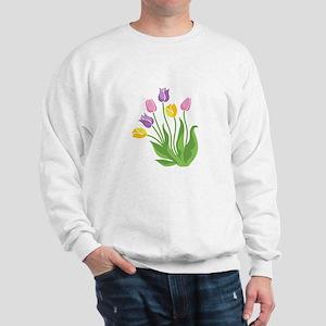 Tulips Plant Sweatshirt