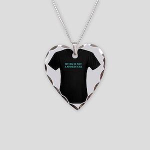 Myasthenia Gravis T-shirt Necklace Heart Charm