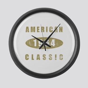 1964 American Classic (Gold) Large Wall Clock