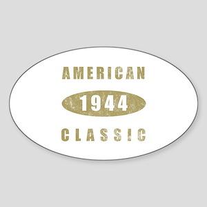1944 American Classic (Gold) Sticker (Oval)