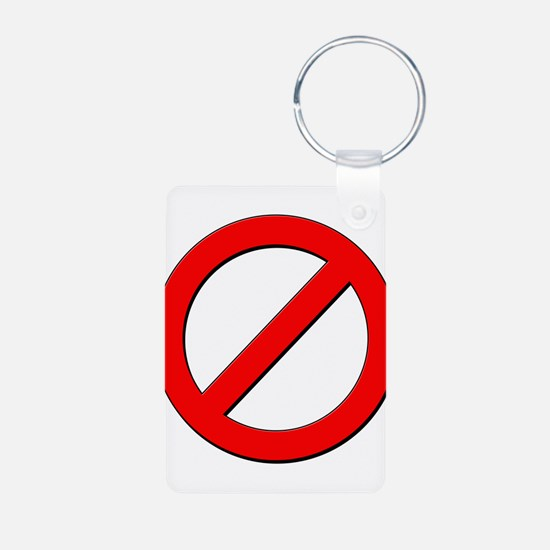 no sign Keychains