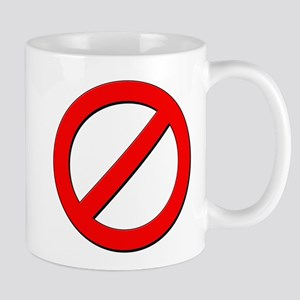 no sign Mugs