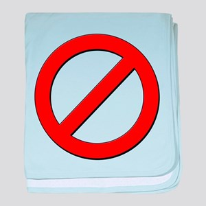 no sign baby blanket