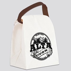 Alta Old Circle Black Canvas Lunch Bag