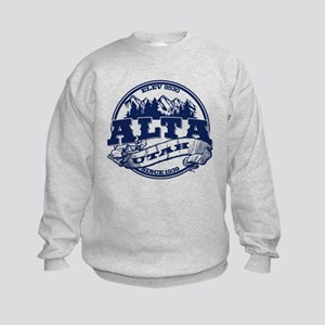 Alta Old Circle Blue Kids Sweatshirt