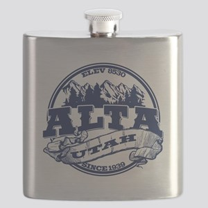 Alta Old Circle Blue Flask