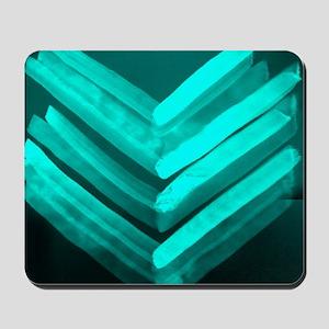 Chevron-Light blue Mousepad