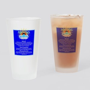 Aquarius-Zodiac Sign Drinking Glass