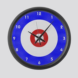 Curling Wall Clock Large Wall Clock