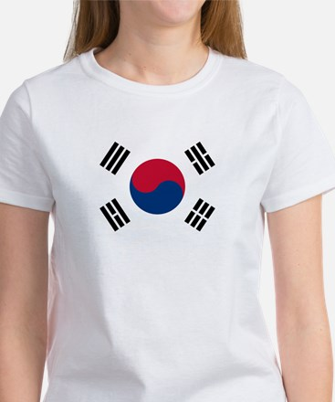 South Korea Flag Women's T-Shirt