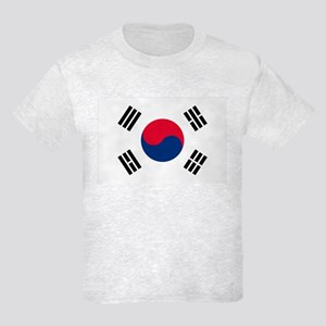 South Korea Flag Kids Light T-Shirt