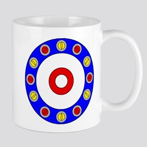 Curling Rocks Around the Clock Mugs