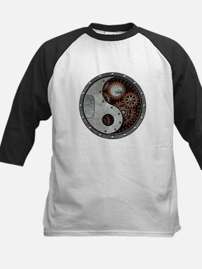Steampunk Yin Yang Baseball Jersey