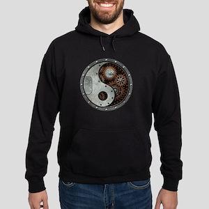 Steampunk Yin Yang Hoodie